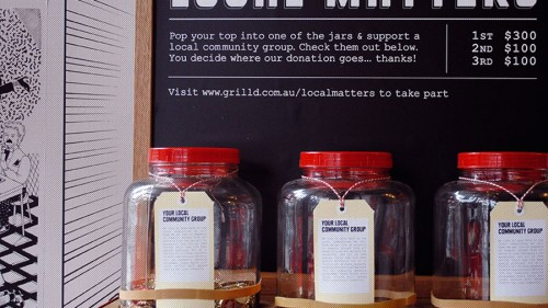 Local Matters to Grill'd Camberwell