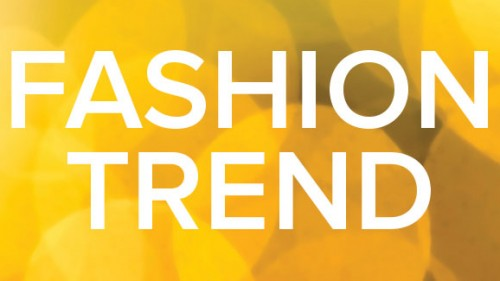 Fashion Trend: The colour yellow