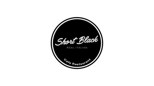 Short Black logo trader banner