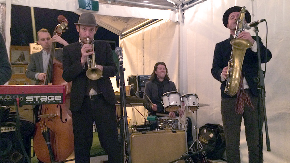 Darcy McNulty and the Pound Collective