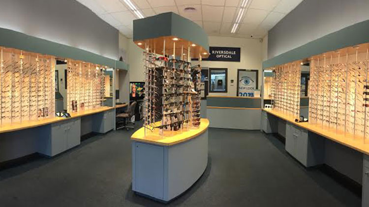 Riversdale Optical instore
