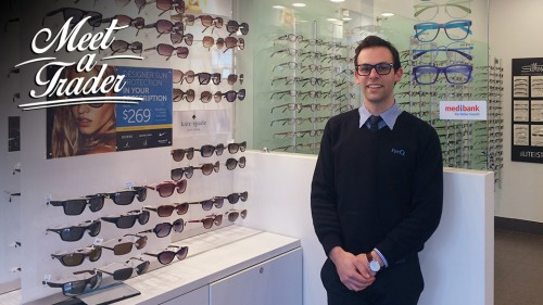 Meet a Trader Adrian Vecchio of EyeQ Optometrists in Camberwell