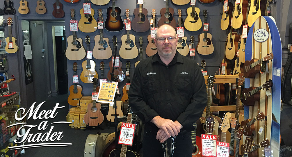 Meet a Trader: Tony Lugton of Music Junction in Camberwell