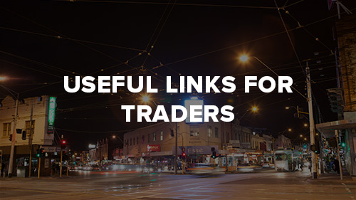 Useful links for traders