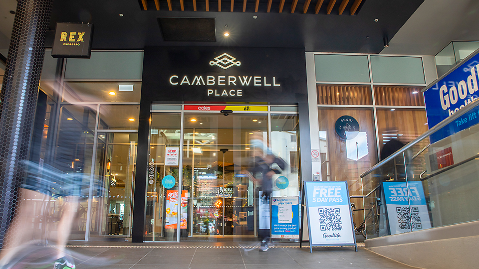 Camberwell Place side entrance