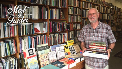 Meet John Sainsbury of Sainsburys Books in Camberwell