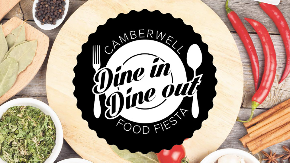 Dine In Dine Out will take place in Camberwell on August 6, 2016