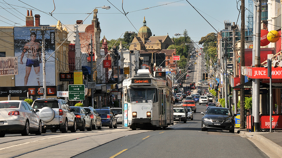 Camberwell Tram