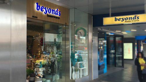 Beyond's homewares in Camberwell