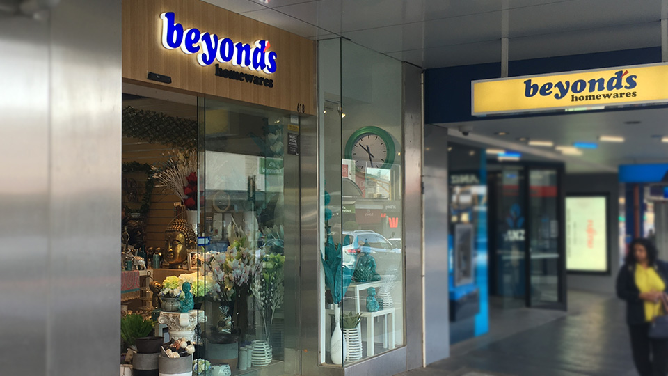 Beyond's homewares in Camberwell