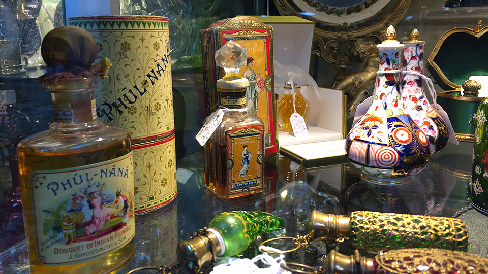 perfume-bottles-at-camberwell-antique-centre