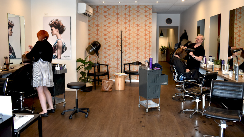 Ulms Hair boasts an impressive team of long-standing staff, with some who have been with the business for more than 20 years.