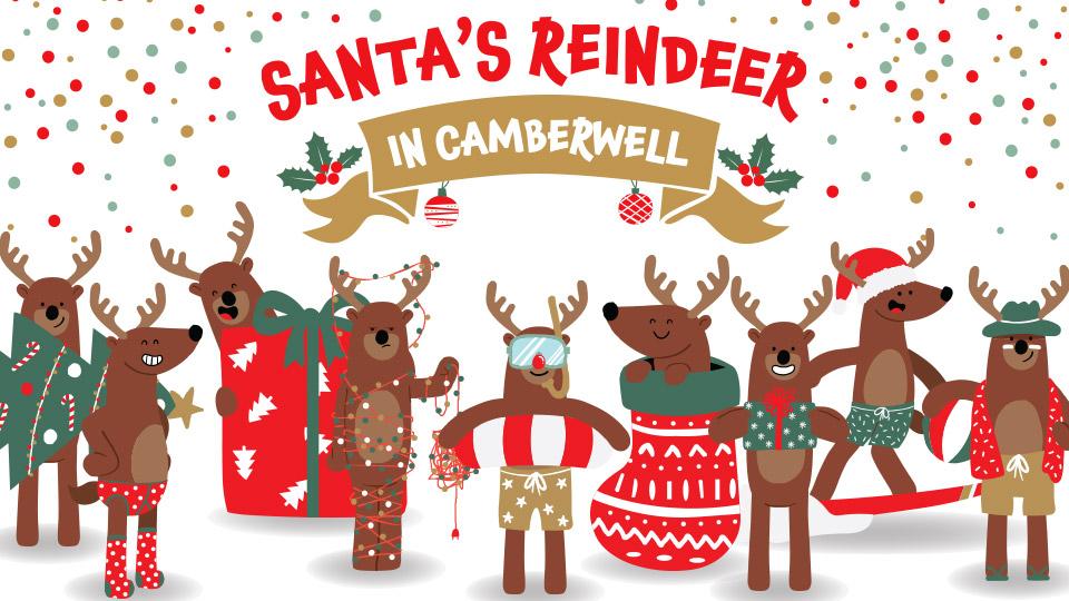 Santa's Reindeer in Camberwell