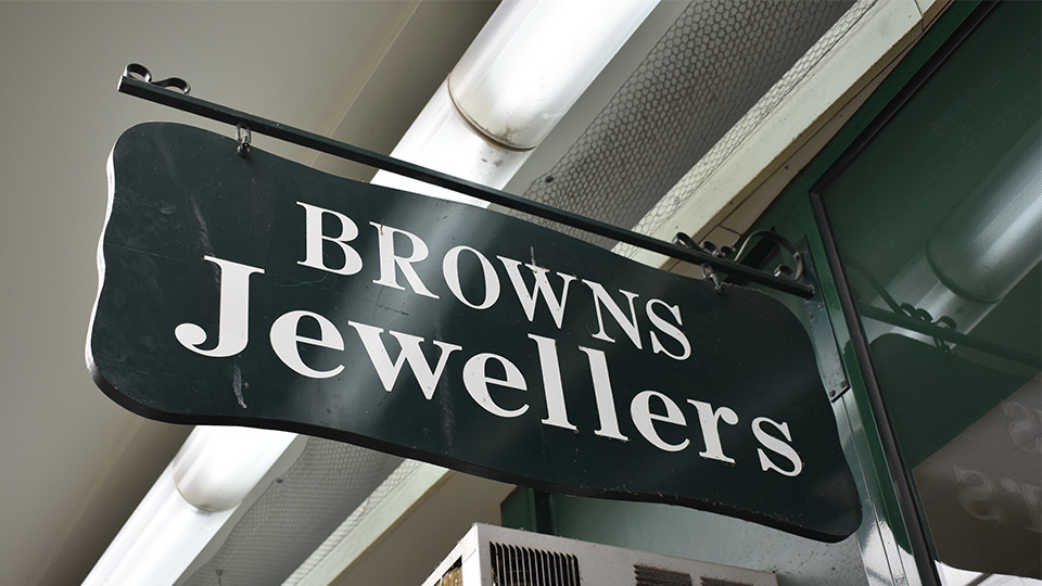 Meet Craig Brown of Browns Jewellers in Camberwell