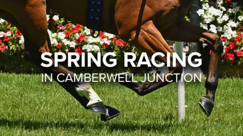 Get ready for Spring Racing Carnival in Camberwell Junction