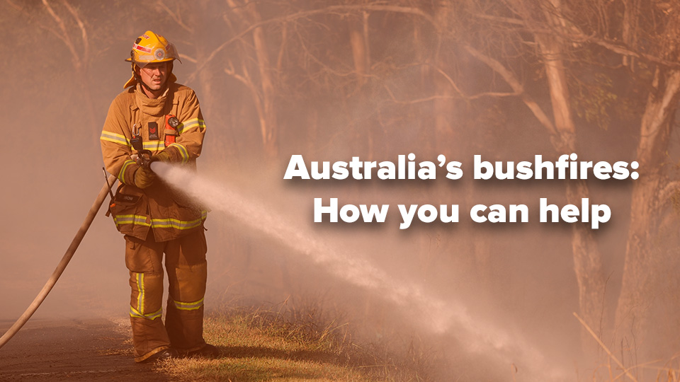 How the Camberwell community can support bushfire relief