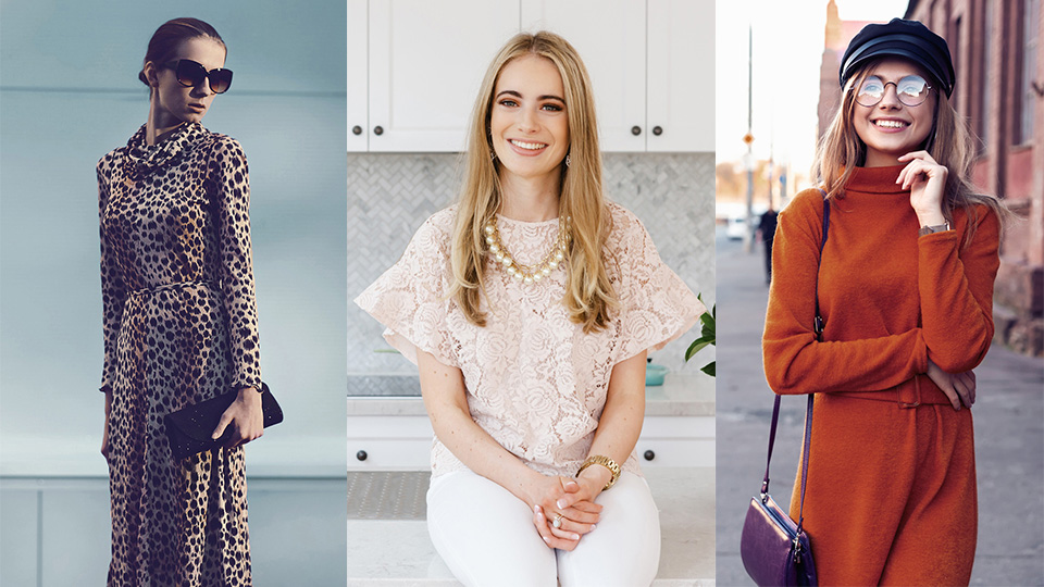 3 women's fashion trends for autumn/winter 2020