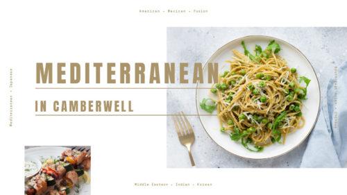 Explore Mediterranean cuisine in Camberwell