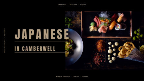 Find Japanese cuisine in Camberwell