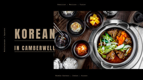 Discover Korean cuisine in Camberwell