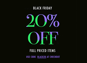 20% off full priced items at Feathers