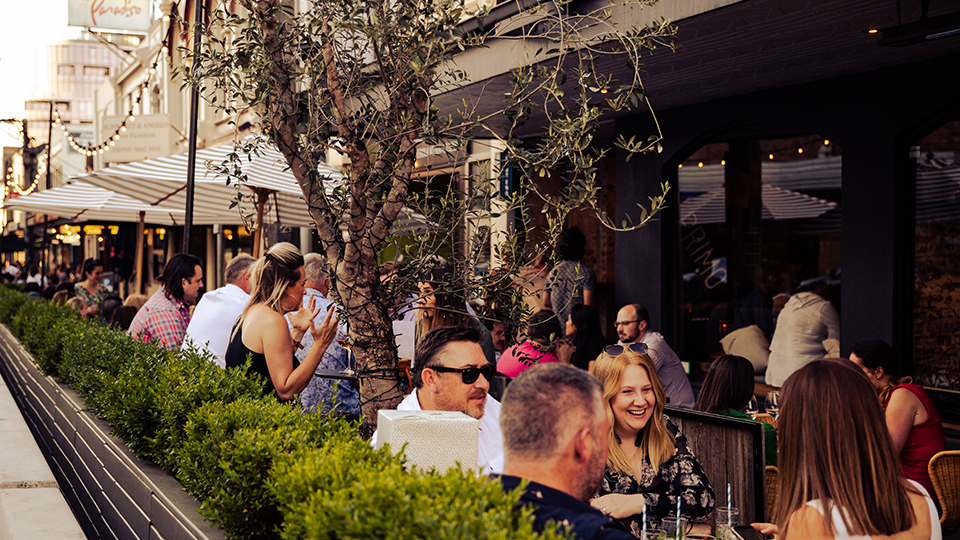 Outdoor dining 'parklets' bring vibrant atmosphere to Camberwell precinct