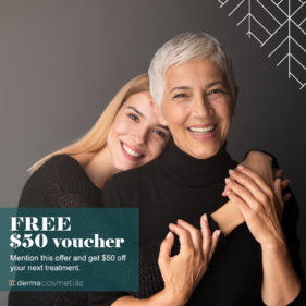 Get $50 off at Derma Cosmetika