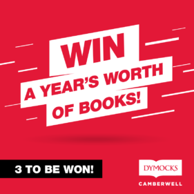 Win a year's worth of books