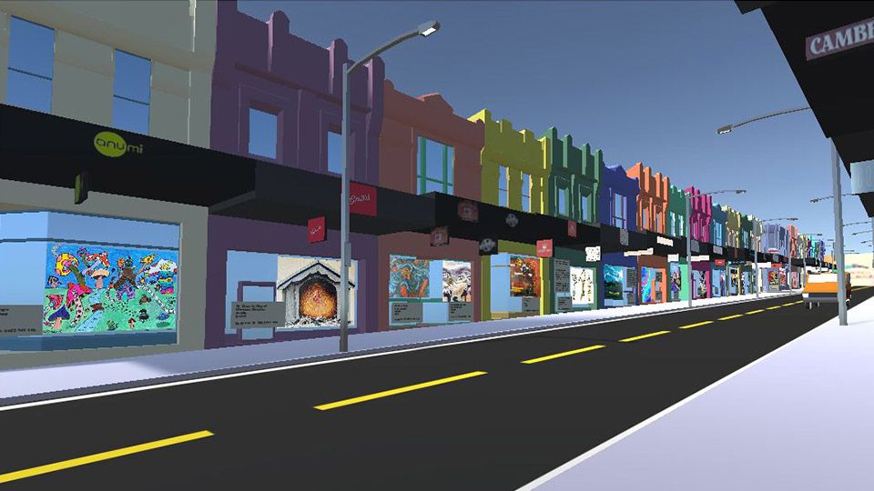 Camberwell on Canvas virtual gallery